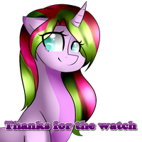 Thanks for the watch by TheCreativeRey