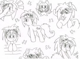 Fritzy Beat Original Design Doodles! (old) X3 by FritzyBeat
