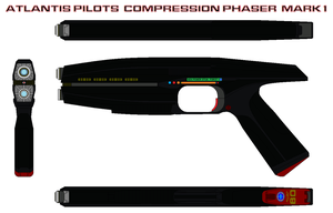Atlantis Pilots  Compression Phaser  mark 1 by bagera3005