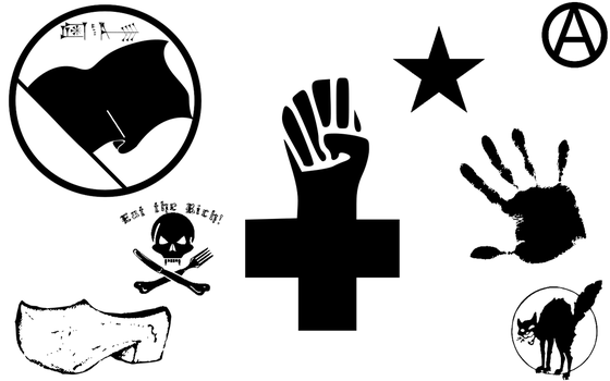 Anarchist Logos by jpoRS