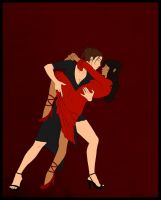 OCs - Tango Dancers by fortheloveofpizza
