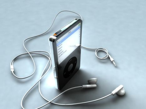 3D Ipod by droguido