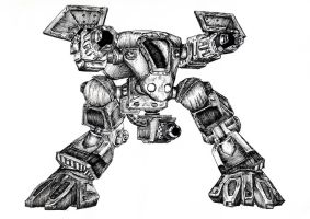 StarCraft Goliath by Gamewiz