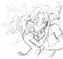 WILL YOU LISTEN TO ME Sketch by calicokatt