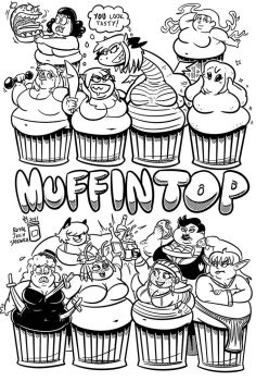Muffintop 4 Splash by RoyalJellySandwich