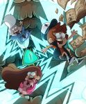 Gravity Falls by albadune