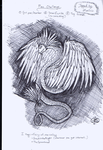 Pen Challenge: Feathered Serpent by Morphicelus