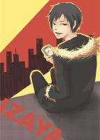 DRRR: Izaya by toiletseat