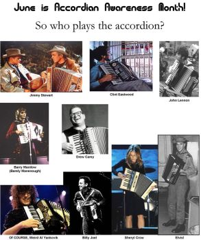 Accordian Awareness Month by regklubeck