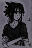 ::SASKUE IN BLACK:: by Stray-Ink92