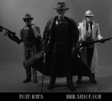 Noir Wars: Bad Guys by sillof