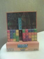Tetris Party Deluxe Papercraft Finished by rubenimus21