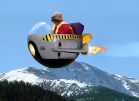 Real Life Eggman by sonicblaster59