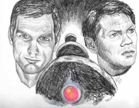 2001: A Space Odyssey tribute pencil by smjblessing