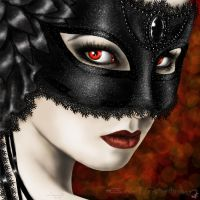 Black mask by legadema666