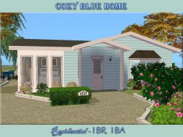 Cozy Blue Home by allison731