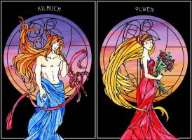 Kilhuch + Olwen by Degare