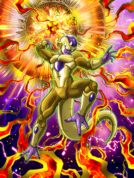 DBZ !!! Golden frieza by mada654