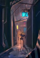 Alley by starryjohn