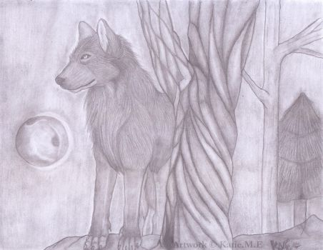 The Lone Wolf by KatieSquiggles