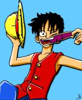 One Piece: Luffy by s0s2