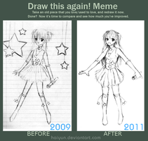 Meme: Before and After by Haiyun