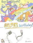 SUPERJAIL birthday by MandyPandaa