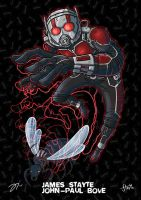 Ant-Man by stayte-of-the-art