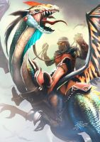 drago flying reptiles by 2d-artist