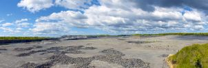 Stone-pit panoramic landscape by jonathanfaulkner