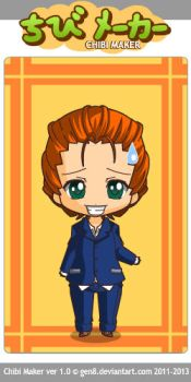 Alexander Graves chibi by Snoopykatlover