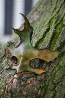 Fall Colors Oak Leaf Mask by OsborneArts