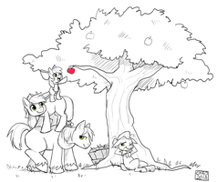 Apple Tree by ChocoChaoFun