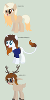 .:[LIST]PONY/DEER SONAS:. by Maniactheleader
