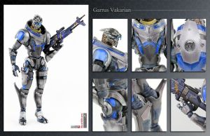 Garrus Vakarian ME3 action figure by shatinn