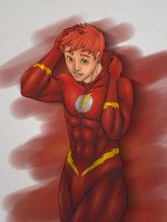 Wally West The Flash by nursury0
