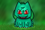 Bulbasaur by KibachuTheWolf