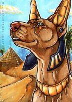 ACEO #356 Desert King by Beast91