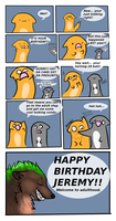 Artblockcomic, No. 08: An artblocky birthday by Tontora