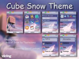 Cube Snow Theme S40 by vicing