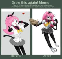 Meme: Draw it Again (Fan Character) by AyakoOtani
