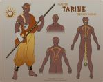 Tarine Character Design by ladyofdragons