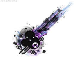 Abstract Vector Wallpaper by messinmotion