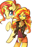 Sunset Shimmer by memoneo