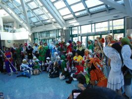 AX 2012: Zelda Gathering by InvaderSonicMx