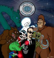 Paranormal Pop Culture by Gonzocartooncompany