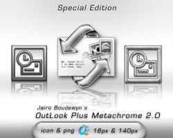 OutLook Plus Metachrome 2 by weboso