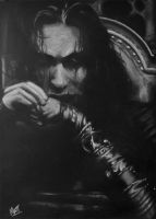 Brandon Lee - The Crow by Gimix1974