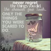 Never Regret. by GothicSocks