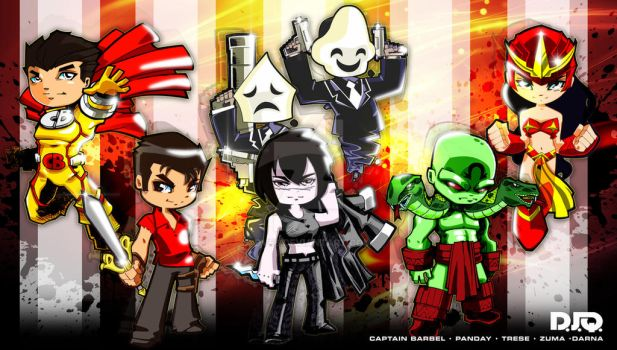 Filipino Super Heroes by Dve6